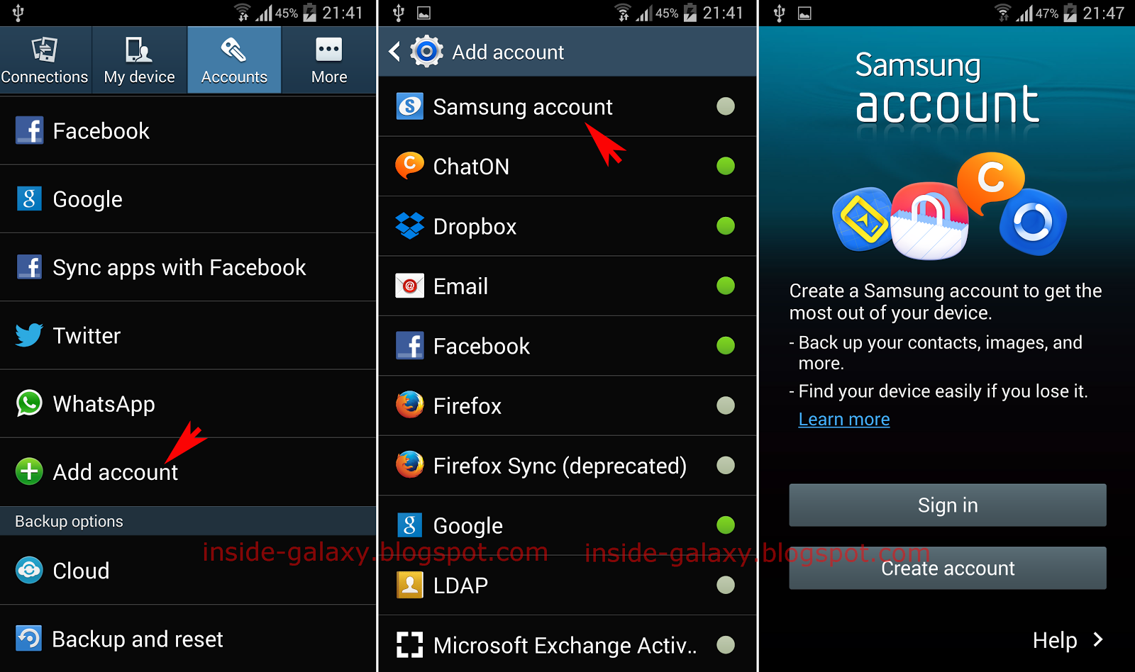 Services Samsung Account Download APK Android Apps Online