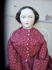 Civility, a Mid-19th Century China Head Doll