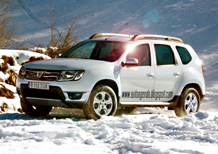 facelift dacia duster 2013 mit neuer front neuen motor. Black Bedroom Furniture Sets. Home Design Ideas