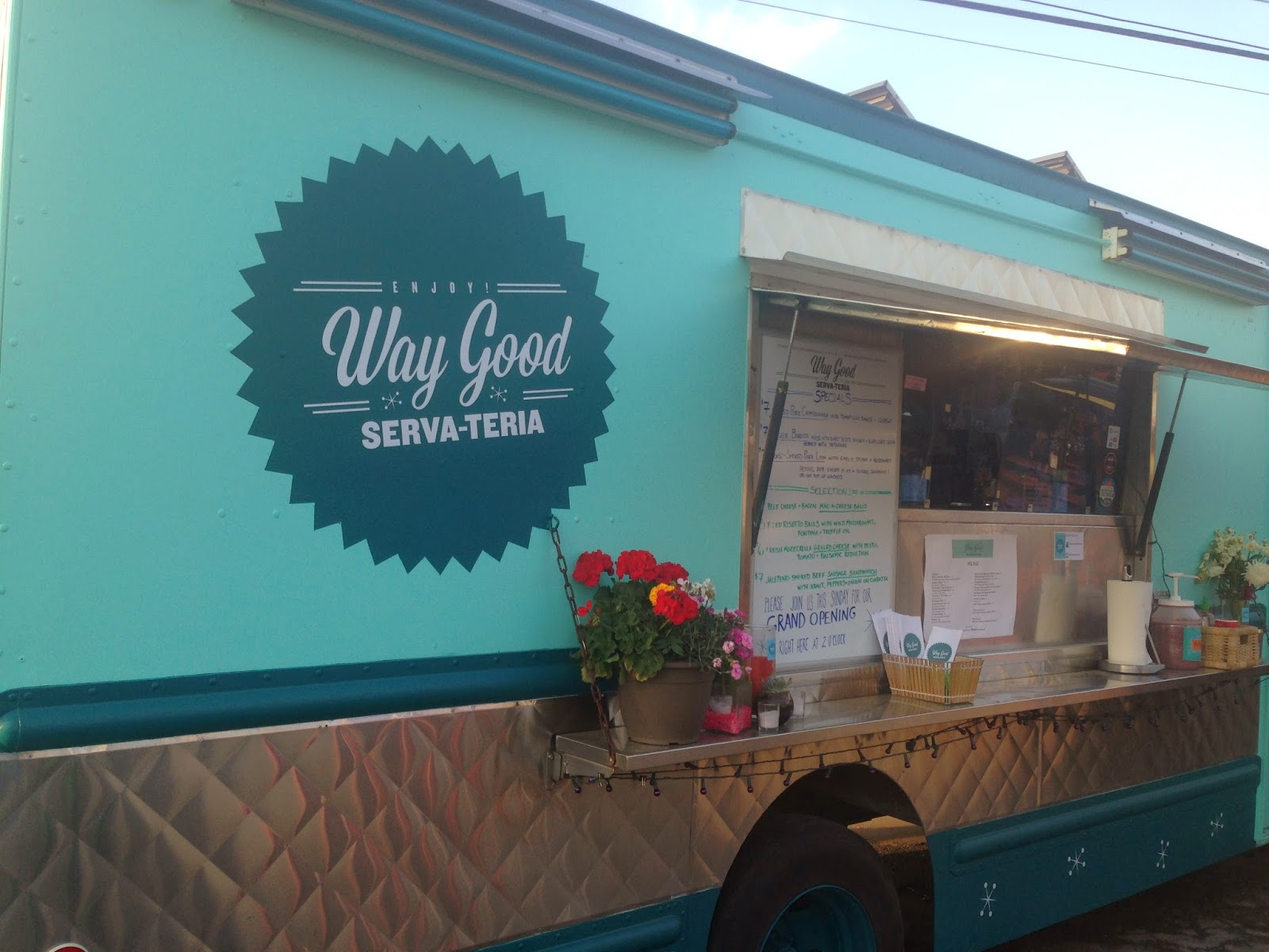 Way Good Serva-Teria Food Truck, Houston TX