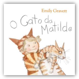 """Livro Infantil: """"O Gato da Matilde"""", editora Livros Horizonte."""