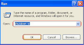 How To Set Timer Shutdown Windows, Cara membatalkan perintah shutdown,
