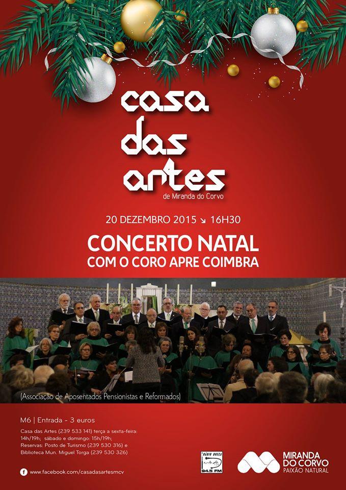 Coro APRe! Coimbra. Concerto de Natal em Miranda do Corvo