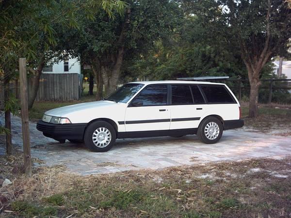 Daily Turismo: White Porpoise: 1992 Chevrolet Cavalier Wagon