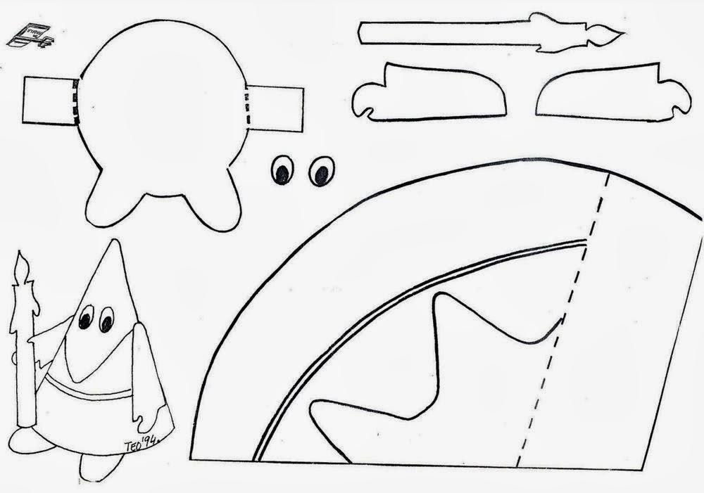 Maestra de Infantil: Dibujos para colorear en Semana Santa