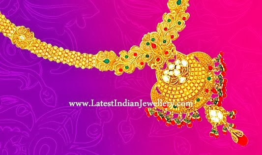 South Indian Bridal Necklace
