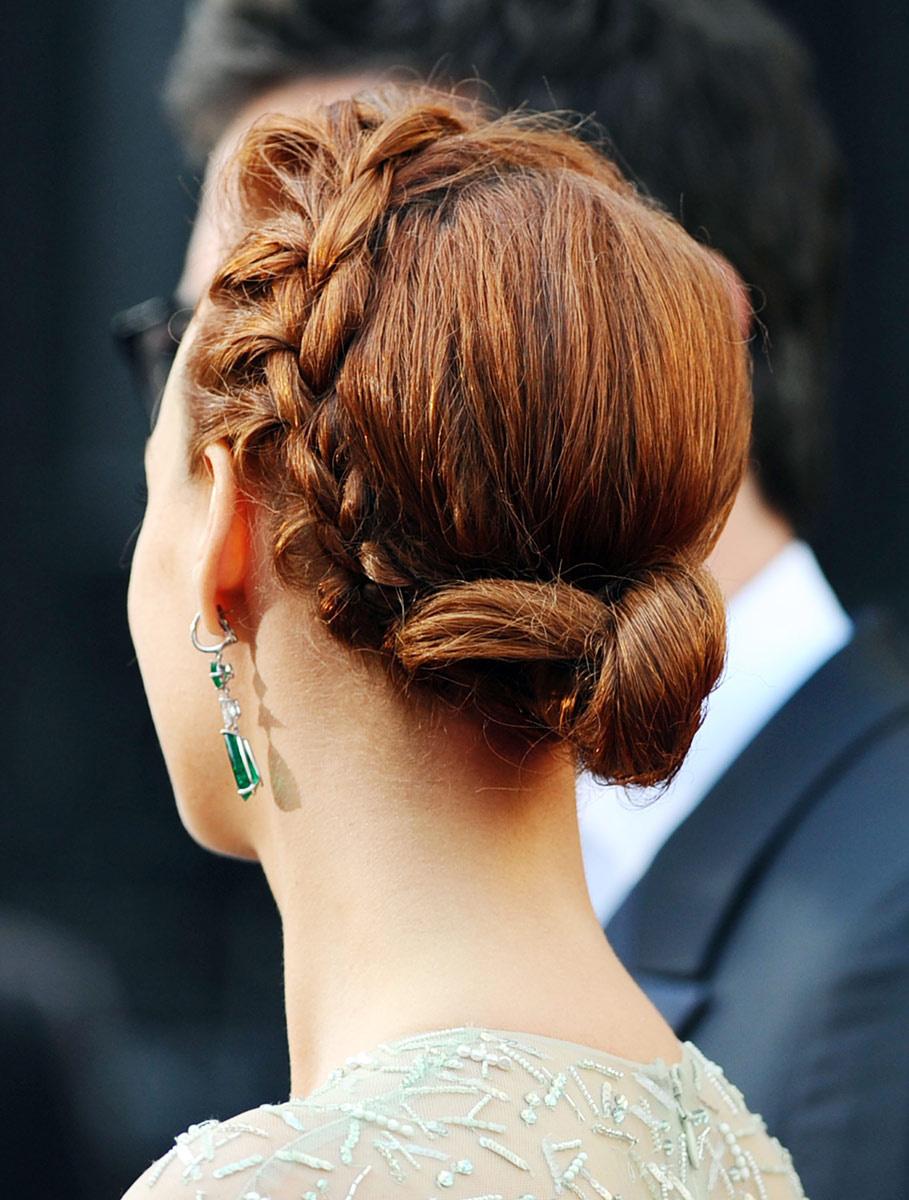 trenzas+con+cabello+recogido+2013