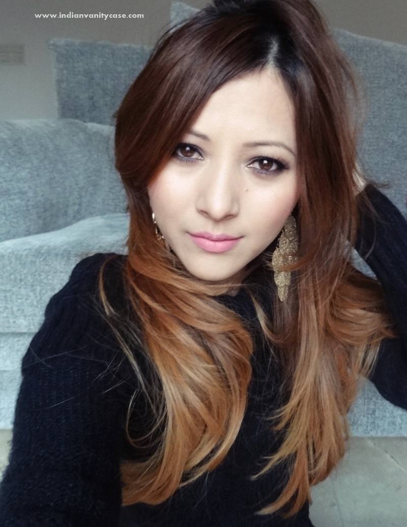 Indian vanity case look of the day new haircut - Ombre hair brune ...