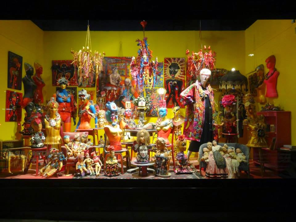 Selfridges Shopwindow Bright Old Things 2015 Sue Kreitzman