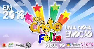 Cristo folia começa nesta sexta-feira (29) em Picuí