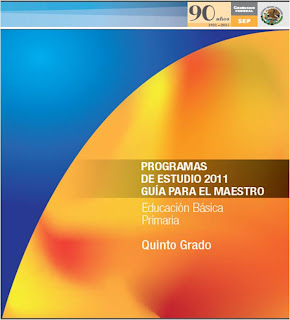 PROGRAMA QUINTO GRADO 2011