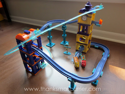 Mega Bloks Chuggington Jet Pack Adventure review