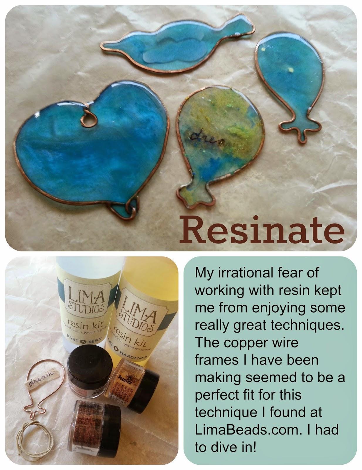 Gaea Ceramic Bead and Art Studio Blog: Resonates With Me - Resin ...