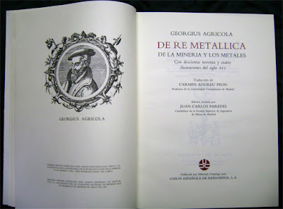 De Re Metallica, Agricola