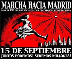 MARCHA HACIA MADRID 15S