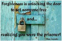 Forgiveness unlocks doors