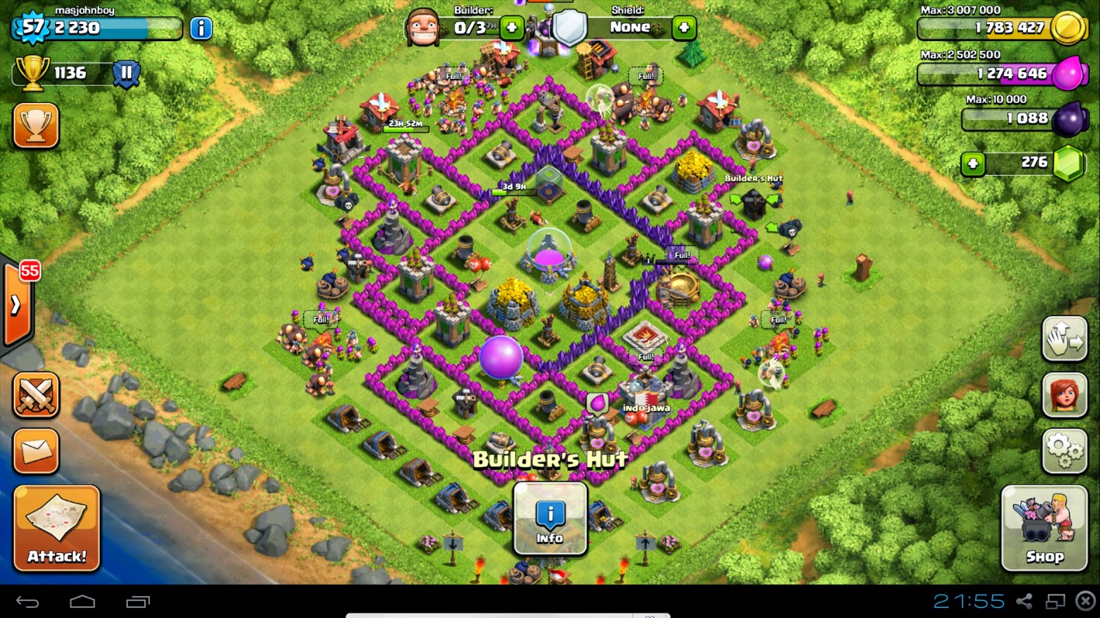 Tips Wall Clash of Clans Terbaik