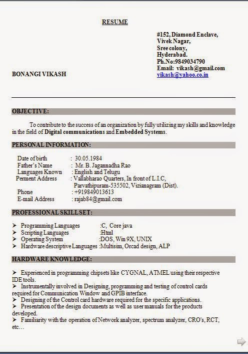 Sample resume for a legal secretary