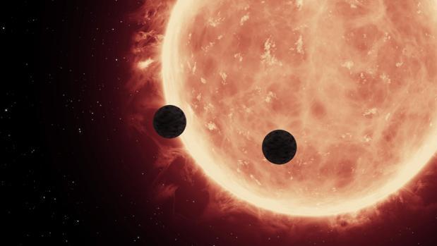 Son rocosos, tienen atmósferas compactas y giran alrededor de una estrella enana y fría
