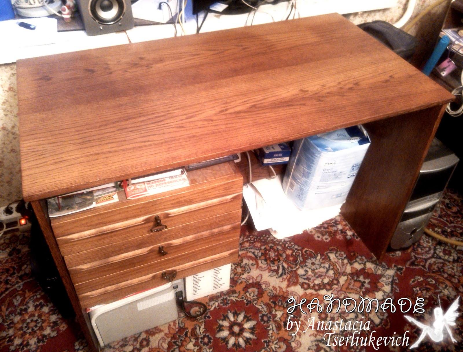 Реставрация полированного стола своими руками фото пошагово