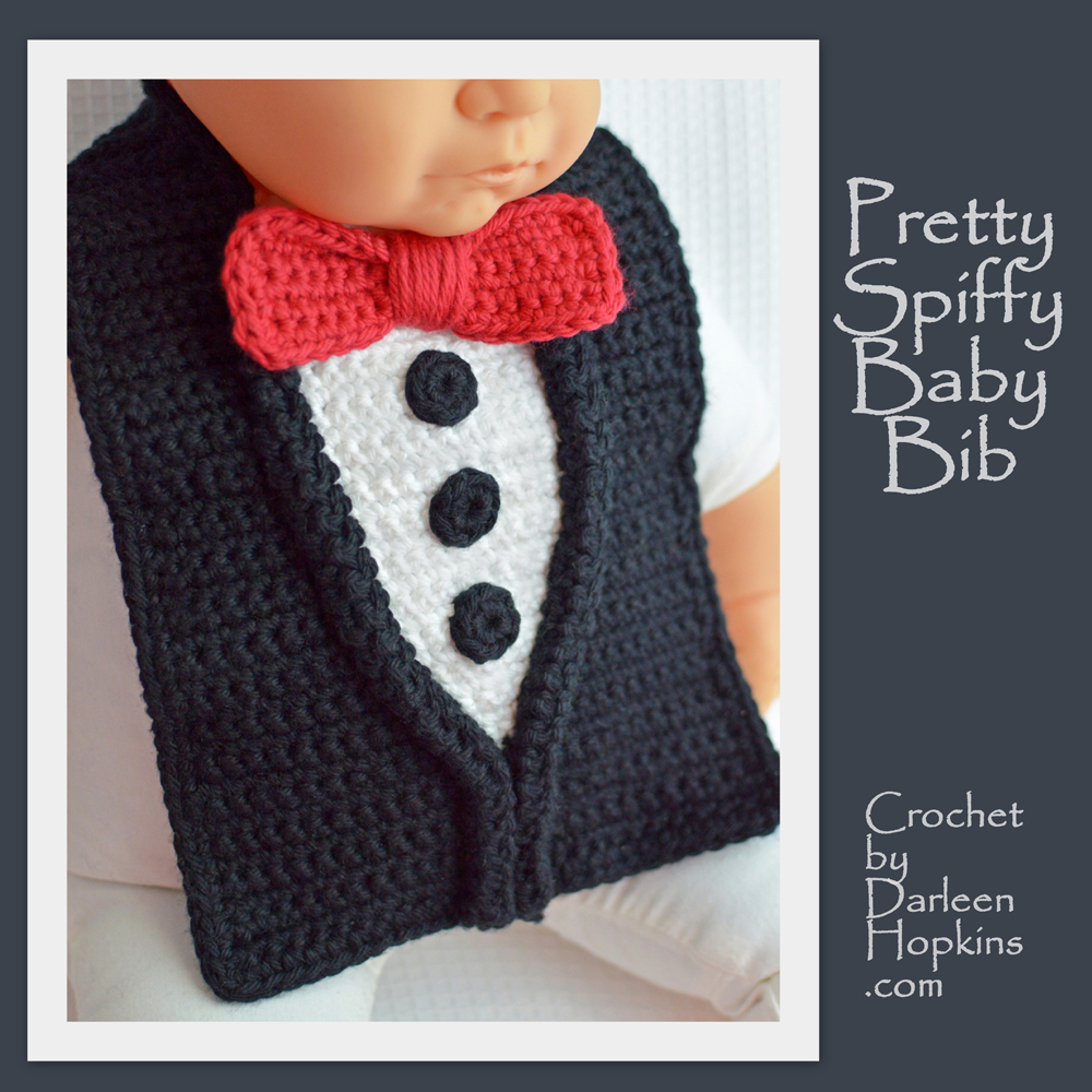 Pretty Spiffy Baby Bib