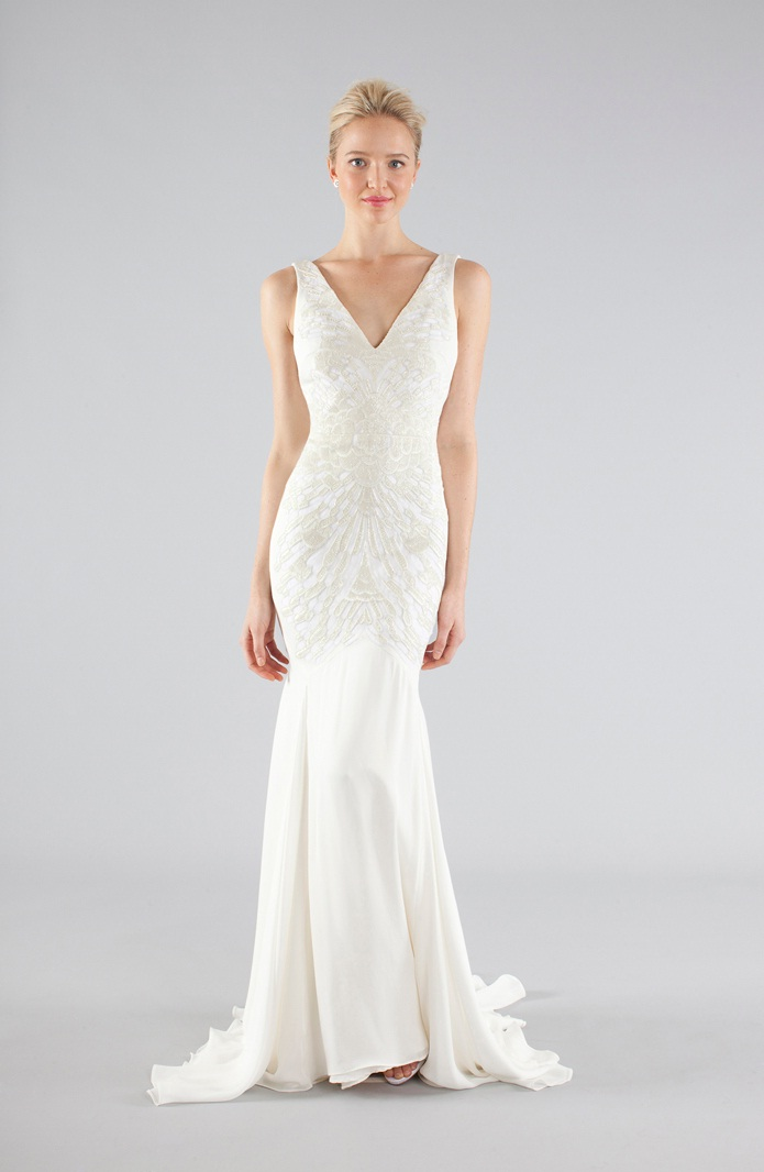 Nicole miller 2013 fall bridal wedding dresses for Nicole miller dresses wedding