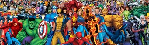Marvel, komiksy, filmy, filmowe uniwersum marvela, Hulk, Wolverine, Fantastyczna Czwórka, Kapitan Ameryka, Czarna Wdowa, Storm, Thor, Iron Man