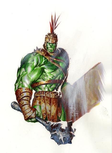 Planet Hulk por butones