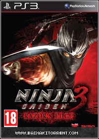 Capa Baixar Ninja Gaiden 3: Razors Edge   PS3   Torrent Baixaki Download