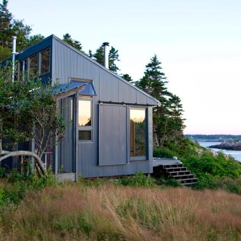 small coastal cottage Maine