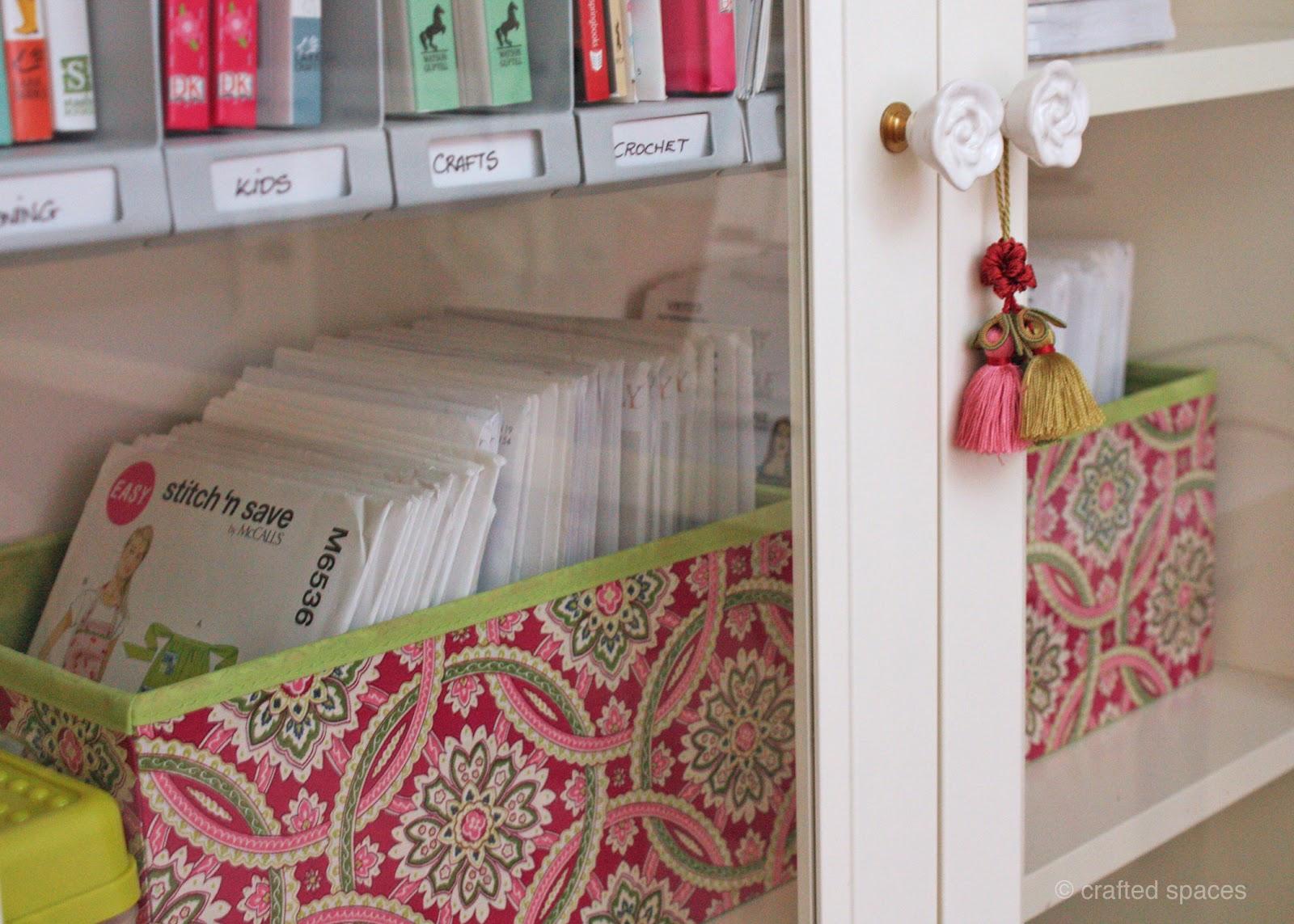 Sewing Pattern Storage Custom Design Ideas