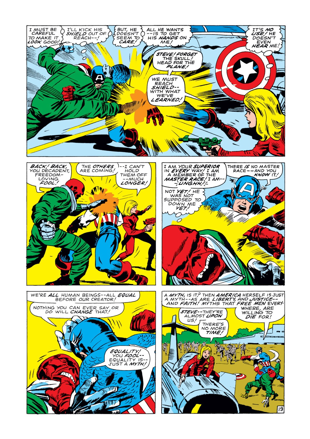 Captain America (1968) Issue #103 #17 - English 20