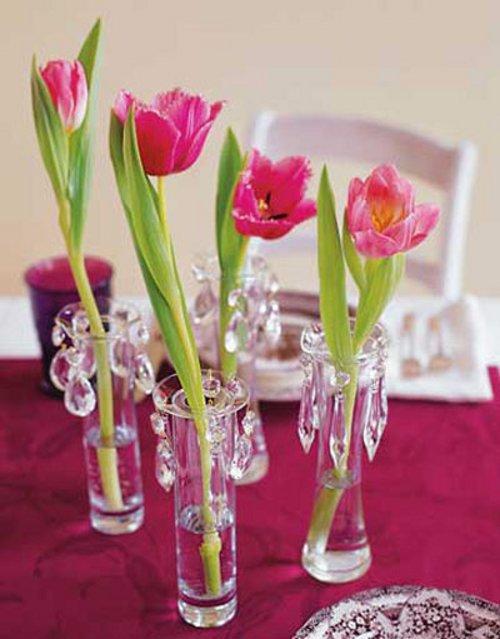 Llenar del color y olor de las flores tu casa es una de las mejores
