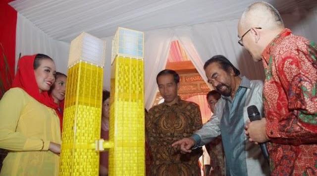 Gedung Keren Mentereng, Hadiah Dari Jokowi Untuk Surya Paloh