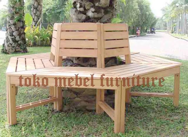 Model Bangku Taman