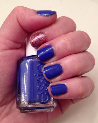 Essie, Essie Butler Please, China Glaze, China Glaze Material Girl, accent nail, nail art, nail polish, nail varnish, nail lacquer, manicure, mani monday, #manimonday, nails