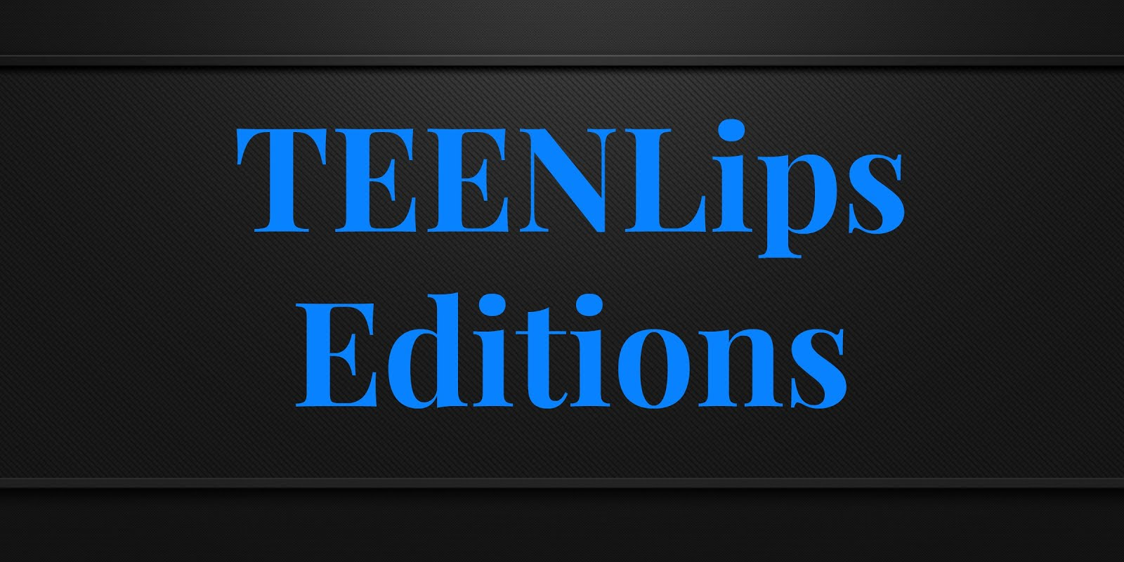 Service Presse TeenLips Editions