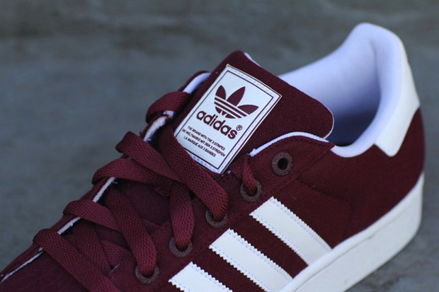 Adidas Superstar Maroon And White