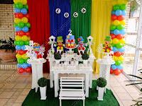 Decoração de festa infantil Patati Patatá Porto Alegre