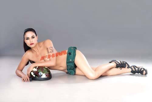 Veena Malik Nude Photo shoot