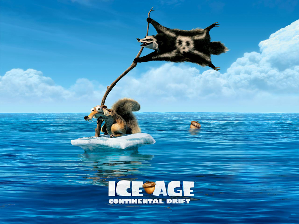 free download ice age: continental drift powerpoint backgrounds, Modern powerpoint