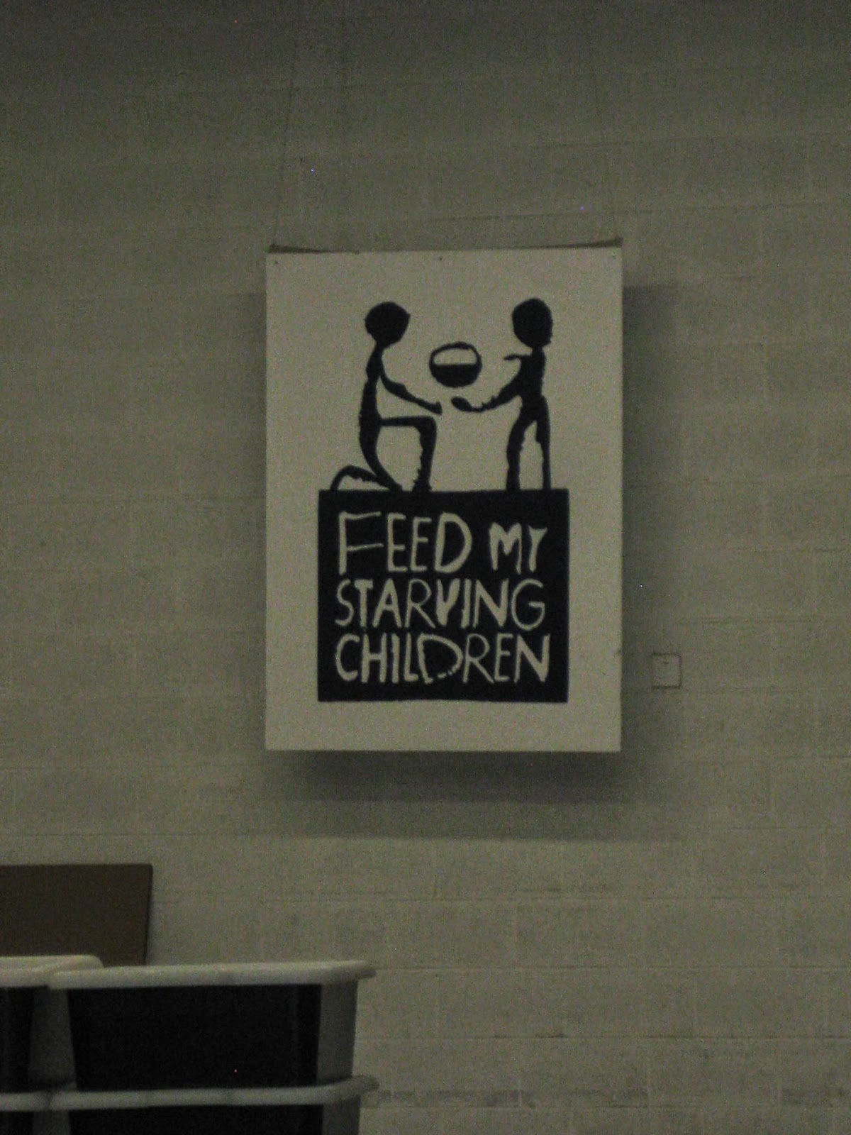 """a personal experience at feed my starving chidren At an event called """"feed my starving children,"""" my youth group packed meals to send to and the people living there experience extreme personal."""
