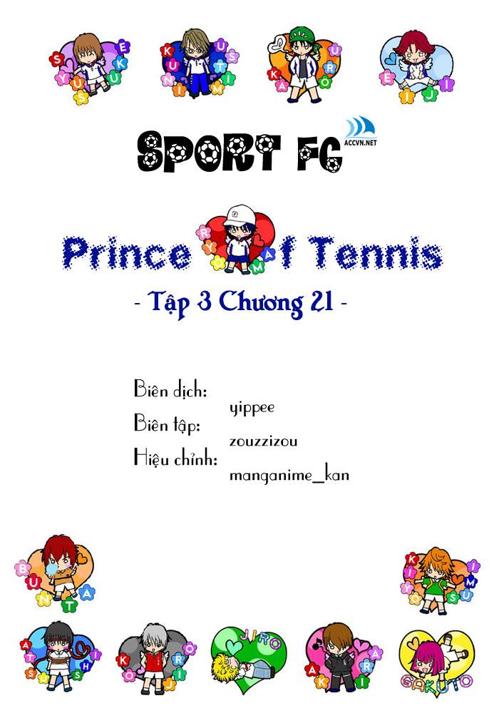 Prince of Tennis chap 21 Trang 1