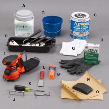 Kitchen and bathroom renovation how to paint kitchen for Bathroom renovation tools