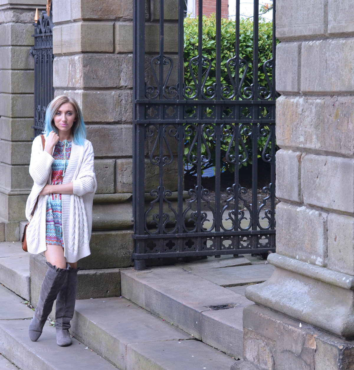 Transitional Styling on Rock On Holly with Bonprix