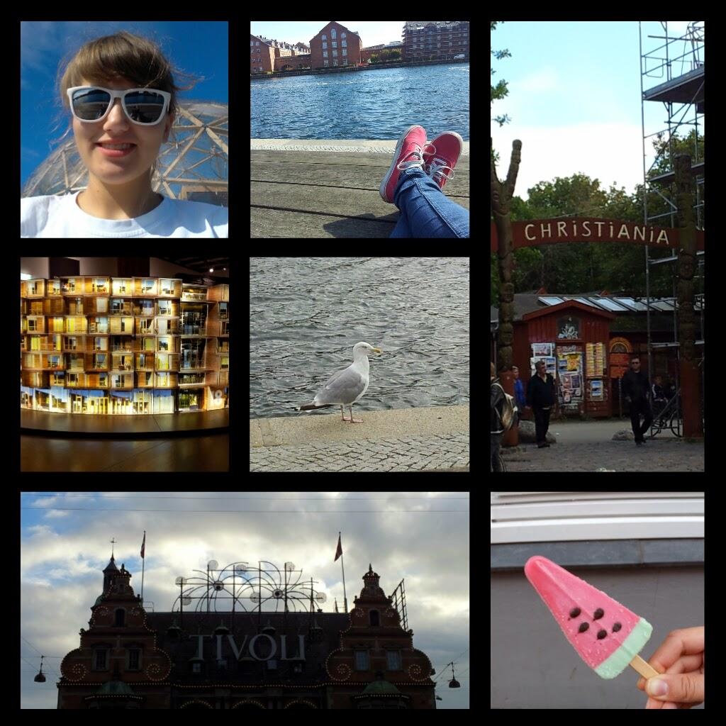 Kopenhagen - Collage Tag 3