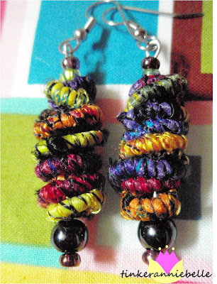 crafty jewelry: boho-chic, earrings inspired from the far east