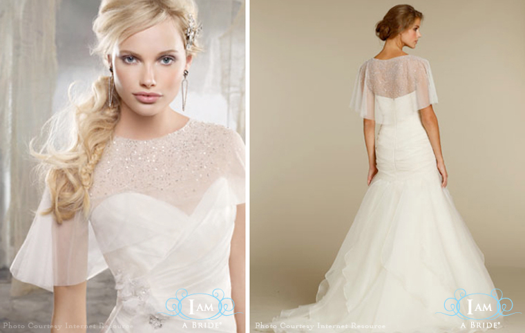 I am a bride personalise bridal wedding gown online for Wedding dress with bolero