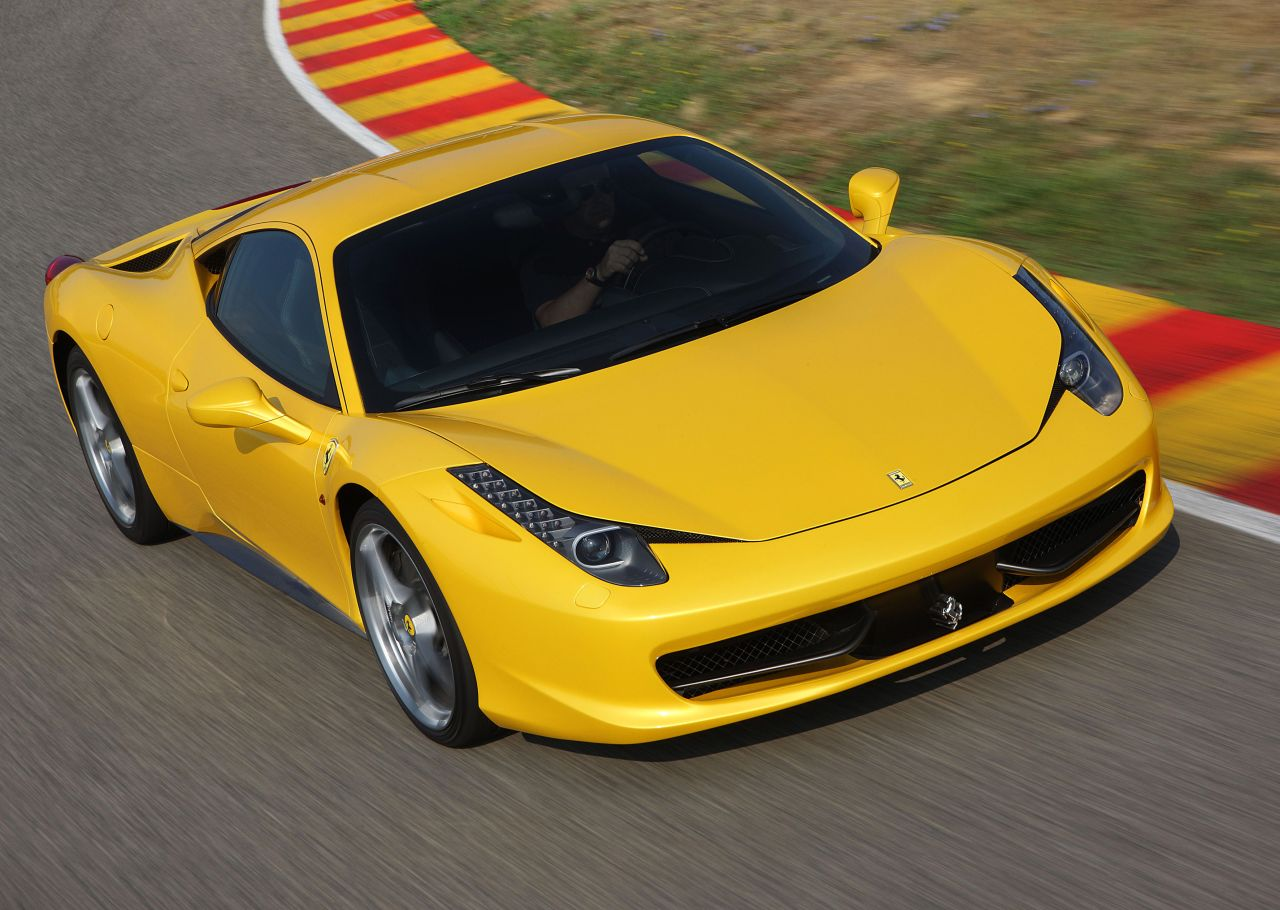 Ferrari F458 Italia Hd Wallpaper Cars