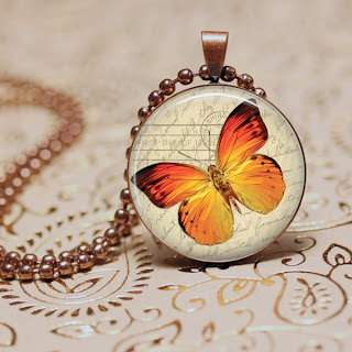 Copper necklace PNG photo Template for Photoshop GIMP